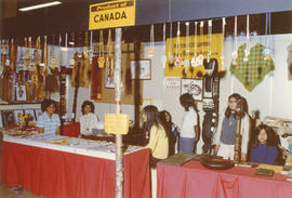 British Columbia Indian Homemakers Association display at 1971 P.N.E. International Bazaar