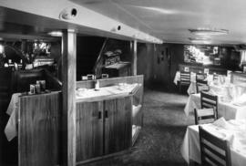 "Portion of Dining Salon, S.S. ""Chilcotin"""