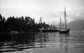 Omar Khayyam and Lady Alexandra in Snug Cove