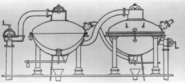 Drawing of multiple effet [evaporator]