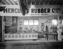 Hercules Rubber Co. display of tires