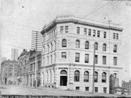 [Bank of British North America at the corner of Hastings and Richards Streets]