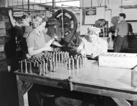 [Women at work at] Dominion Electrohome Industries