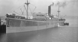 S.S. Toyooka Maru [at dock]