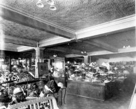 Woodward's Millinery Department [at Hastings Street and Abbott Street]