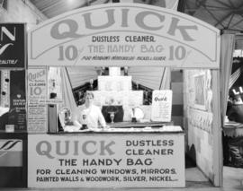 """Quick"" Dustless cleaner display at Canadian Pacific Exhibition"