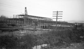 Dom[inion] Bridge Co. [under construction], Boundary Road and Lougheed [Highway]