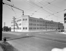 [Exterior view of Hammond Furniture warehouse and manufacturing facilities]