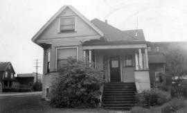 [Exterior of F.W. Sentell's residence at 1908 East 8th Avenue]
