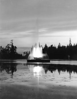 [Fountain at Lost Lagoon]