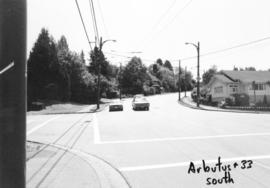 Arbutus [Street] and 33rd [Avenue looking ] south