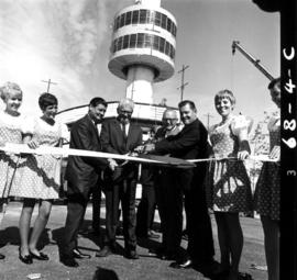 Opening ceremony for Space Tower in P.N.E. Playland