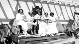 Kitsilano Queen, Miss McNiven and maids of honour, Kitsilano Day