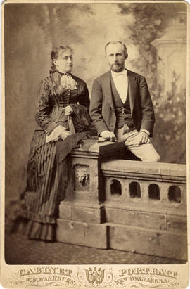 Mr. and Mrs. S.B. Rogers in New Orleans