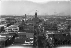1 Fort Worth from N.W. Bldg. [northwest building]