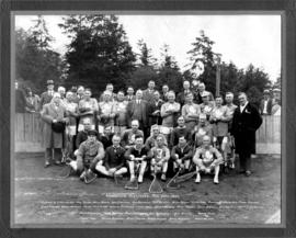 Vancouver Oldtimers [lacrosse team]. May 24th, 1929
