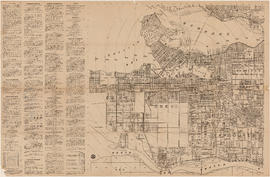 Map and guide of Greater Vancouver