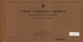 Tidal current charts, Vancouver Harbour, British Columbia : front cover
