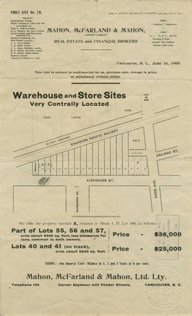 Warehouse and store sites : very centrally located