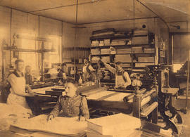 Vancouver Bookbinding Company, Cambie Street, G.A. Roedde, Manager
