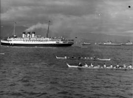 "[S.S. ""Princess Marguerite"" en route to Victoria for visit of King George VI and Queen ..."