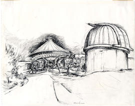 View of the Vancouver Museum and Planetarium and the MacMillan Observatory, 1100 Chestnut Street,...