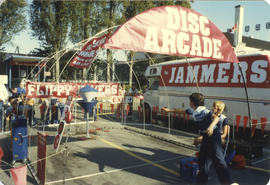 Jammers Disc Arcade display on grounds