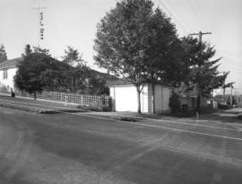 Slocan Street, west side at lane south of 3rd Avenue - view west