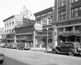 [View of the 500 Block Seymour Street]