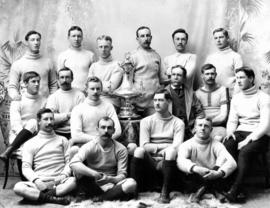 Vancouver Rugby Football Team - Winners of B.C. Championship, 1895-6