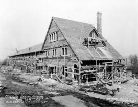 "Provincial Mental Hospital - Nurse's Home - Essondale, B.C. - E.H. Shockley ""Contractor..."