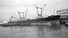 M.S. Eveline [at dock]