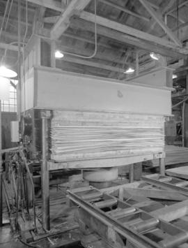 B.C. plywood [machinery]
