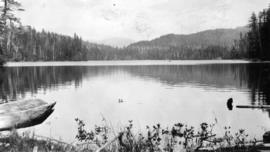 West Coast trip [with Sherwood Lett, Arthur Lord, W.O. Banfield] : Cecilia Lake