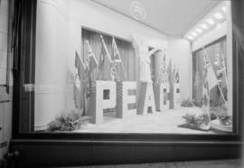Hudson's Bay Co. display window 'Peace'