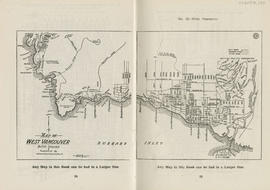 Sectional map and street directory of Vancouver, British Columbia : map of West Vancouver