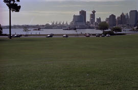 View of Canada Place from Stanley Park