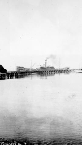 Ship at B.C. Sugar dock