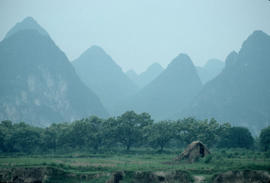 Karst Landscape at Guilin China