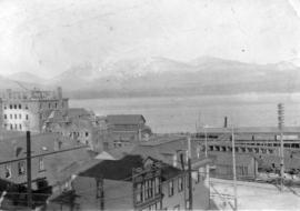 [View from foot of Seymour Street]