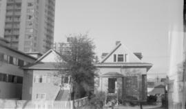 1831 and 1835 Pendrell Street north side, just west of Denman Street
