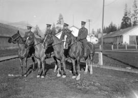 68th C.F.A. [4 soldiers on horseback]