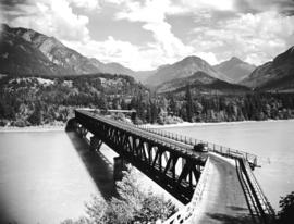 [Bridge over the Fraser River]