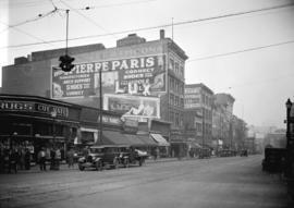 Taken for Duker and Shaw Ltd., billboard advertising [north side West Hastings from Abbott lookin...