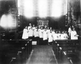 [The choir inside St. John's Church]