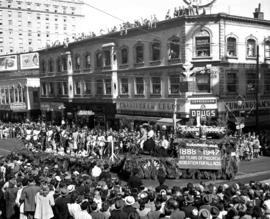 Board of Park Commissioners float in 1947 P.N.E. Opening Day Parade