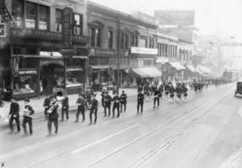 [11th Annual Convention of Northwest Moose Association Loyal Order of Moose, parade on Granville ...