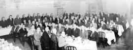 Canadian Cavalry Veteran's Association annual reunion dinner, Hotel Georgia, Vancouver, B.C.