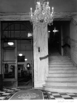 Century House, 432 Richards Street, interior staircase