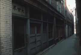Alley in Victoria Chinatown